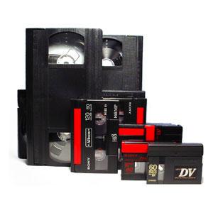 les cassettes sous différents formats